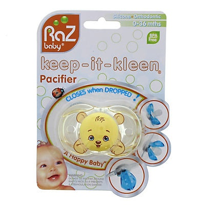 slide 1 of 1, Keep It Clean Pacifier Strap,