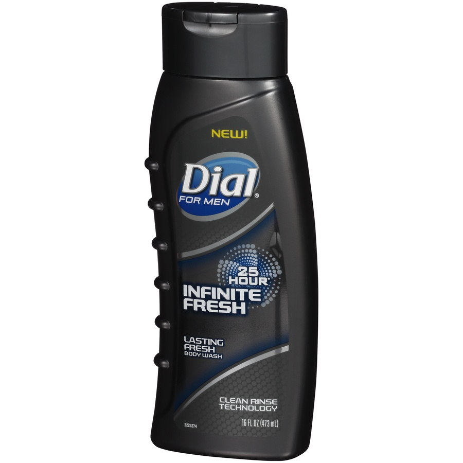 slide 3 of 6, Dial For Men Infinite Fresh Body Wash,