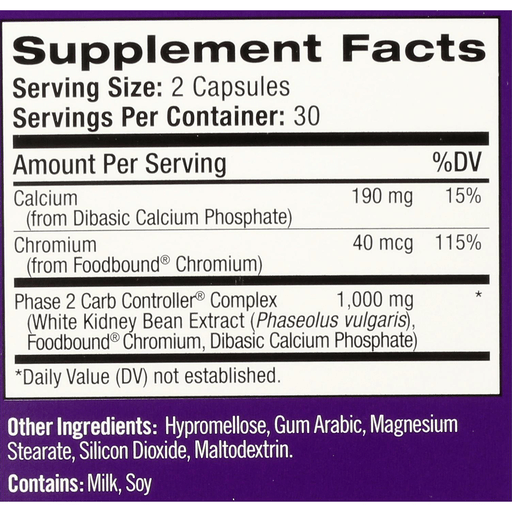 slide 2 of 3, Natrol White Kidney Bean Carb Intercept Capsules,