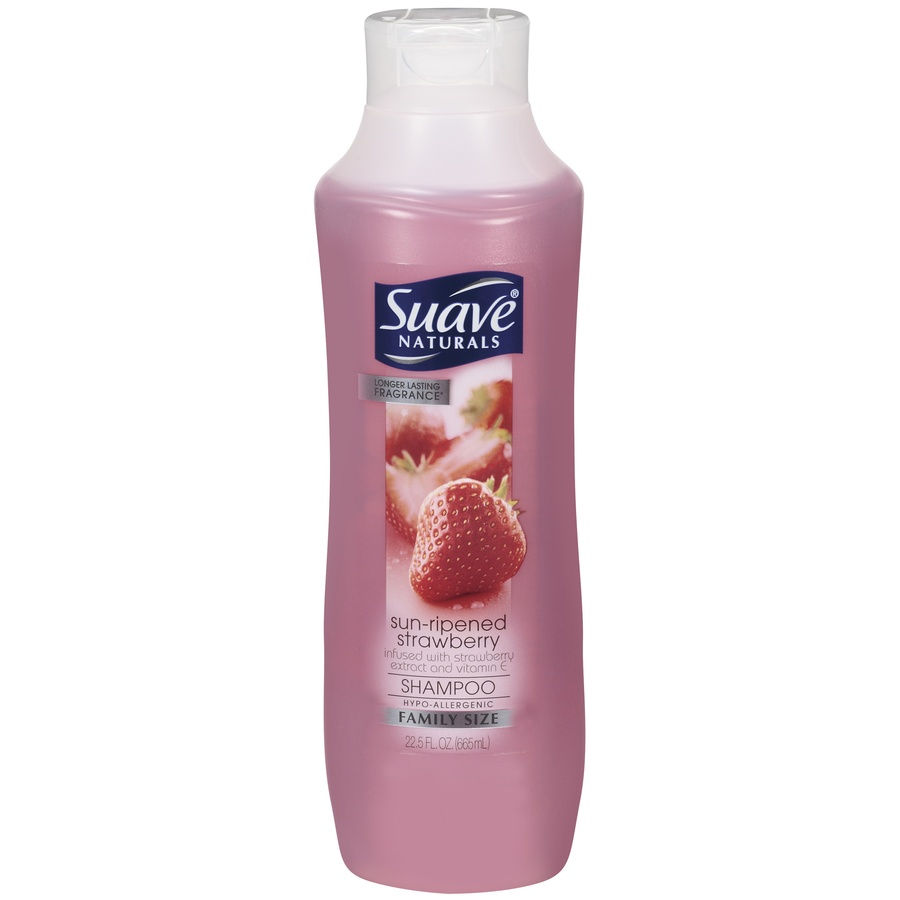 slide 1 of 1, Suave Naturals Sun-Ripened Strawberry Shampoo,