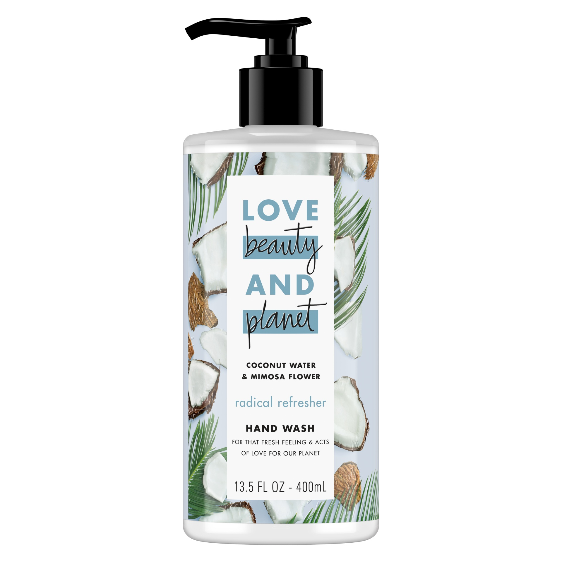 slide 1 of 1, Love Beauty and Planet Coconut Water & Mimosa Flower, for refreshed hands Hand Wash,