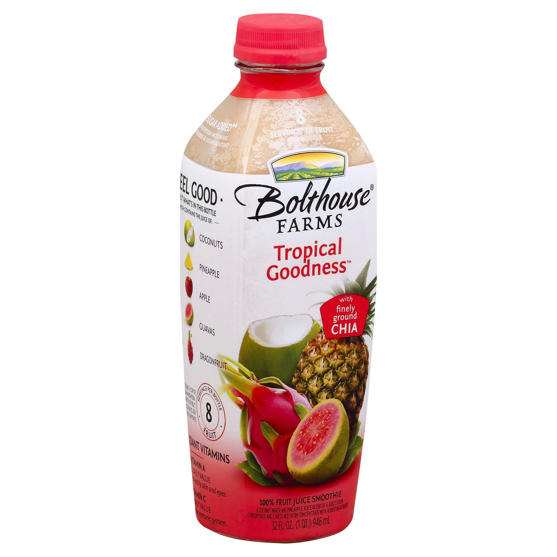 slide 1 of 7, Bolthouse Farms Tropical Goodness Smoothie Boosts,