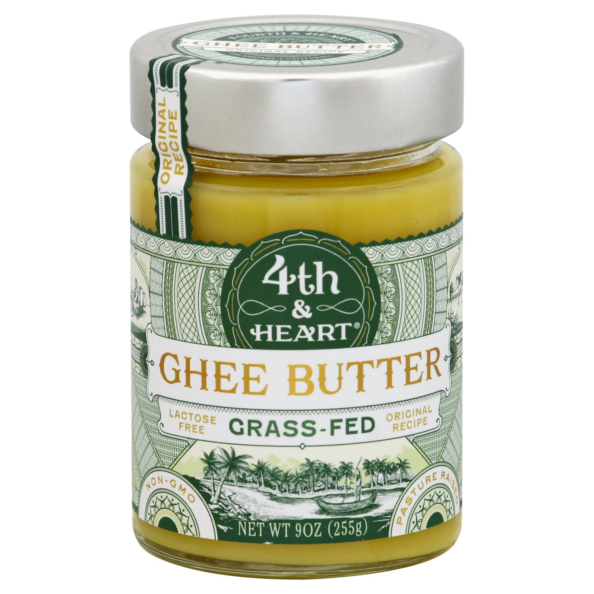 slide 1 of 1, 4th & Heart Original Ghee Butter,