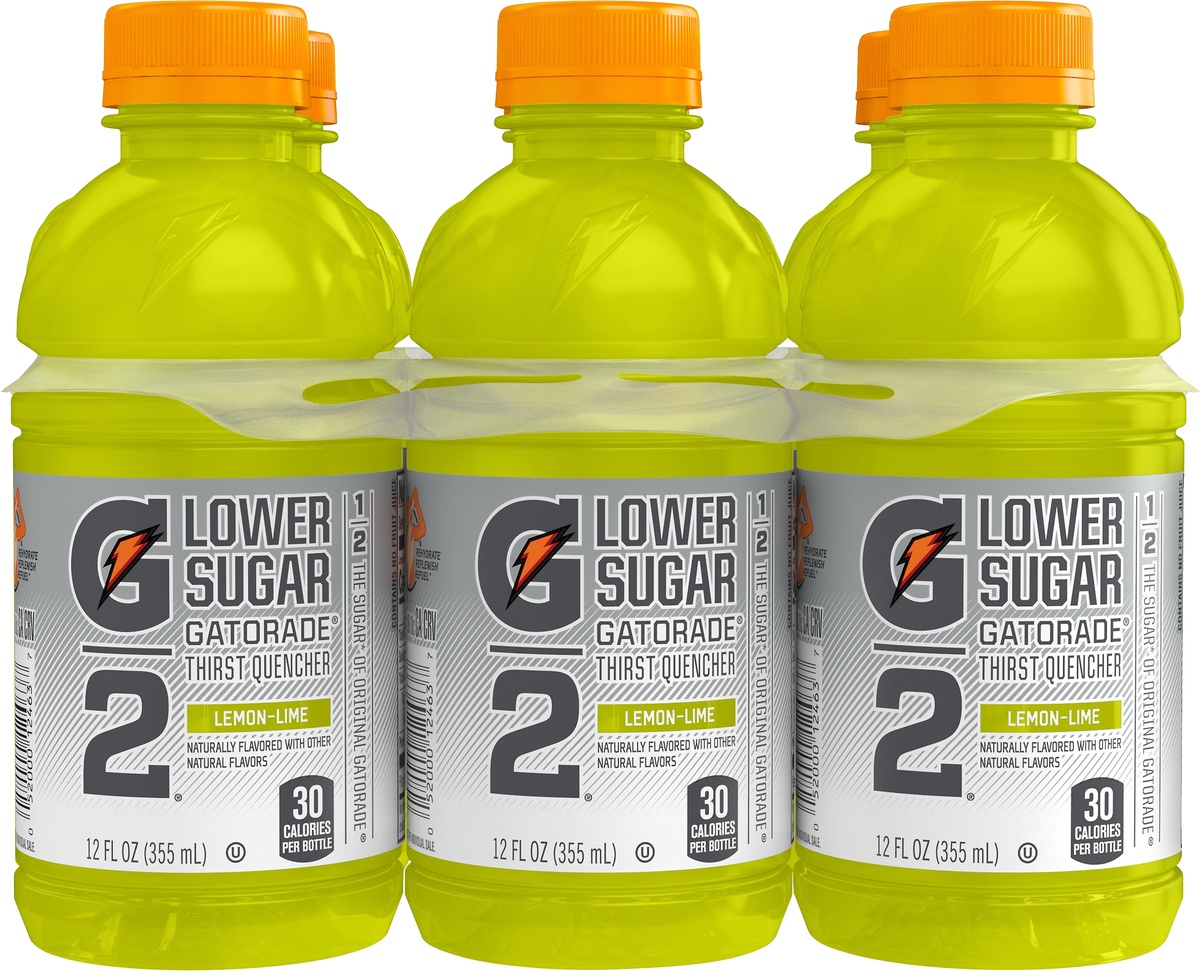slide 4 of 4, Gatorade G Series G2 Low Calorie Lemon-Lime Sports Drink,
