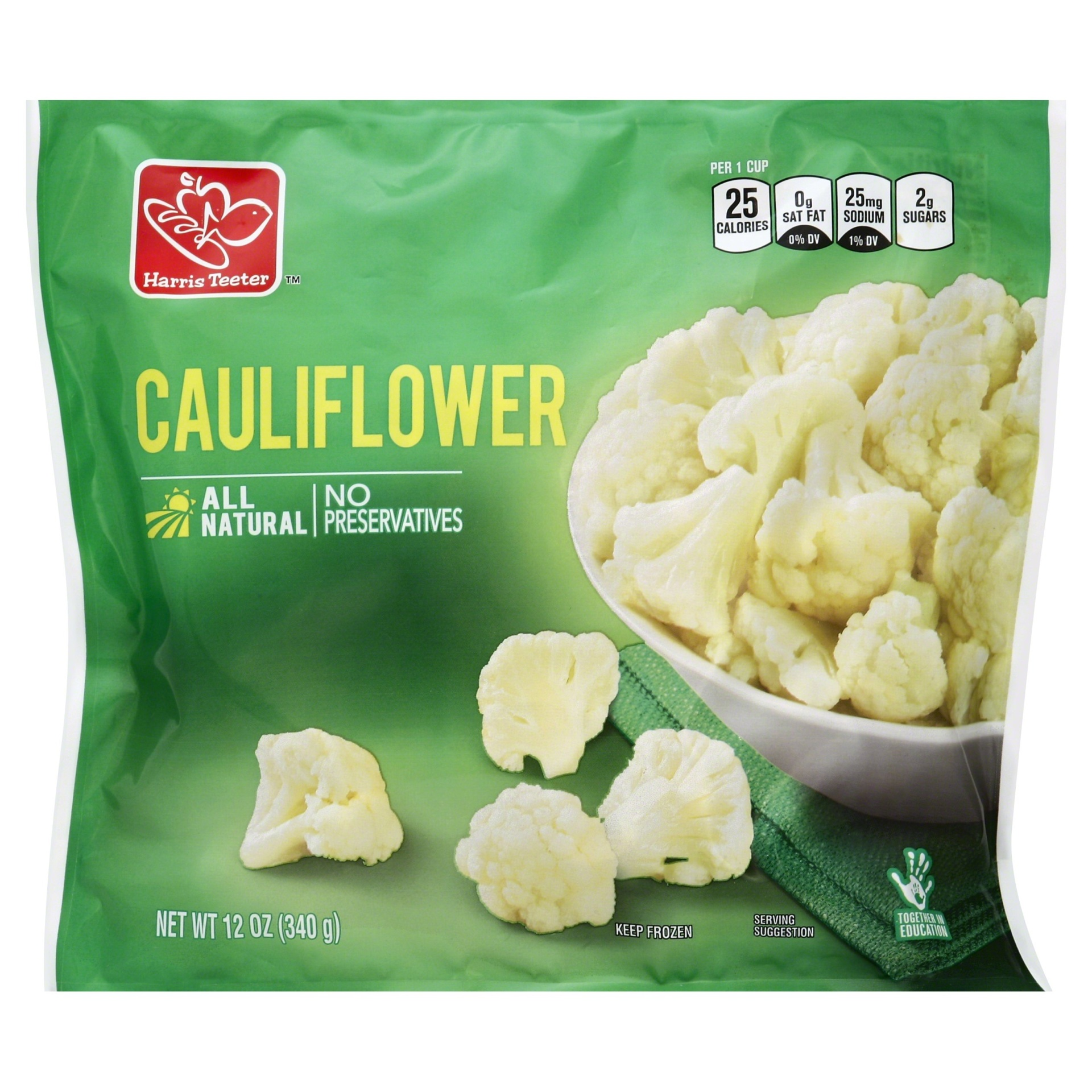 slide 1 of 1, Harris Teeter Cauliflower,