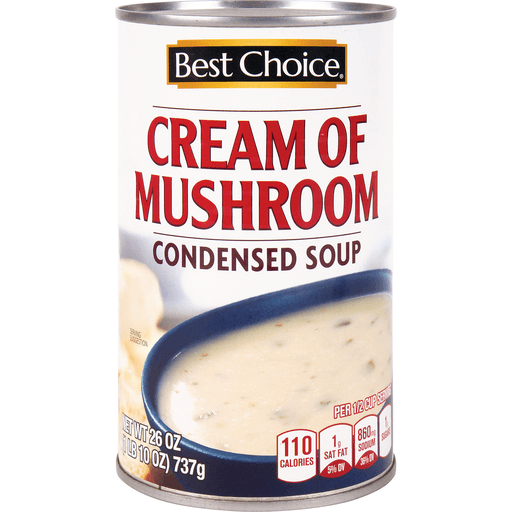 slide 1 of 1, Best Choice Cream Of Mushroom Condensed Soup,