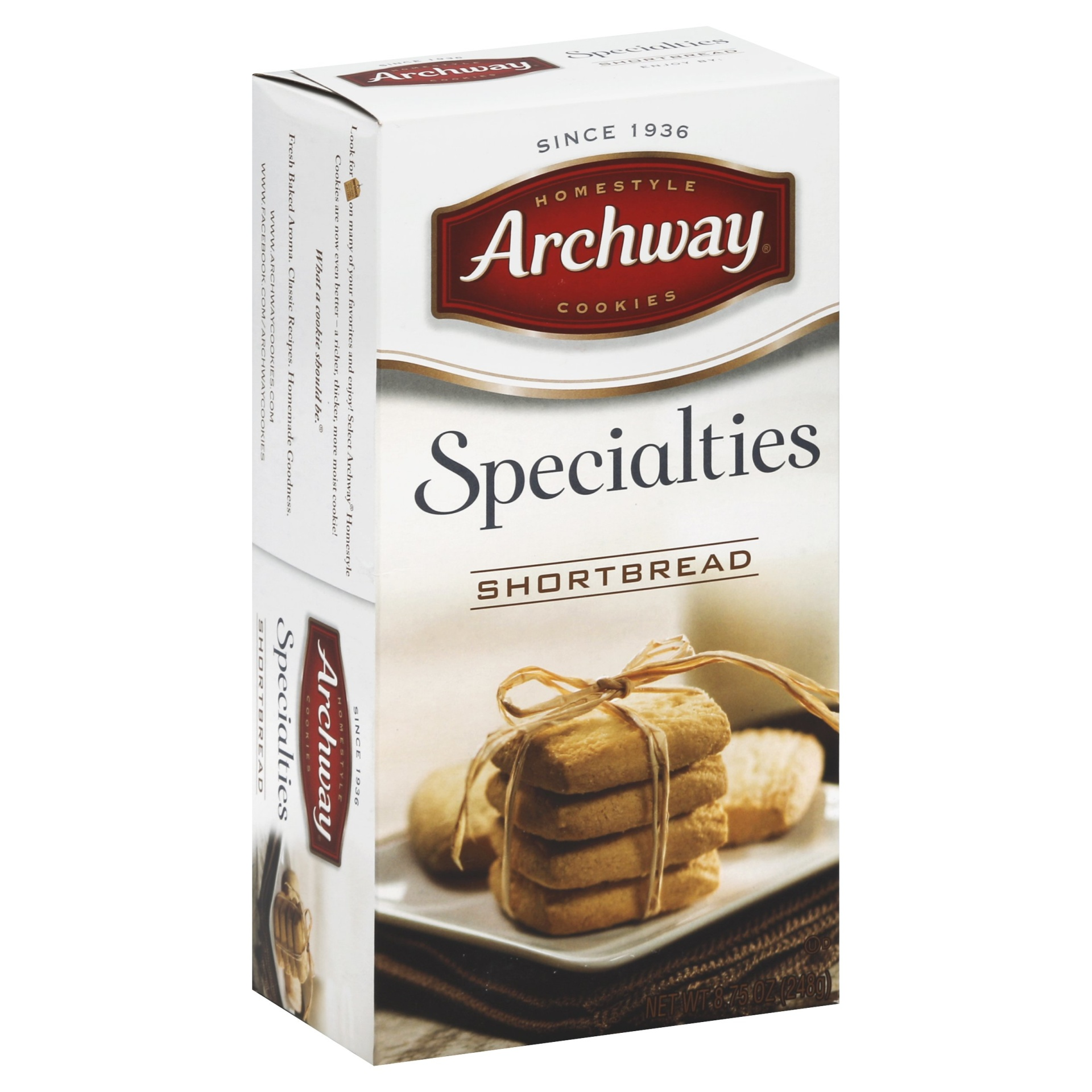 slide 1 of 1, Archway Cookies Specialties Original Shortbread Cookies,