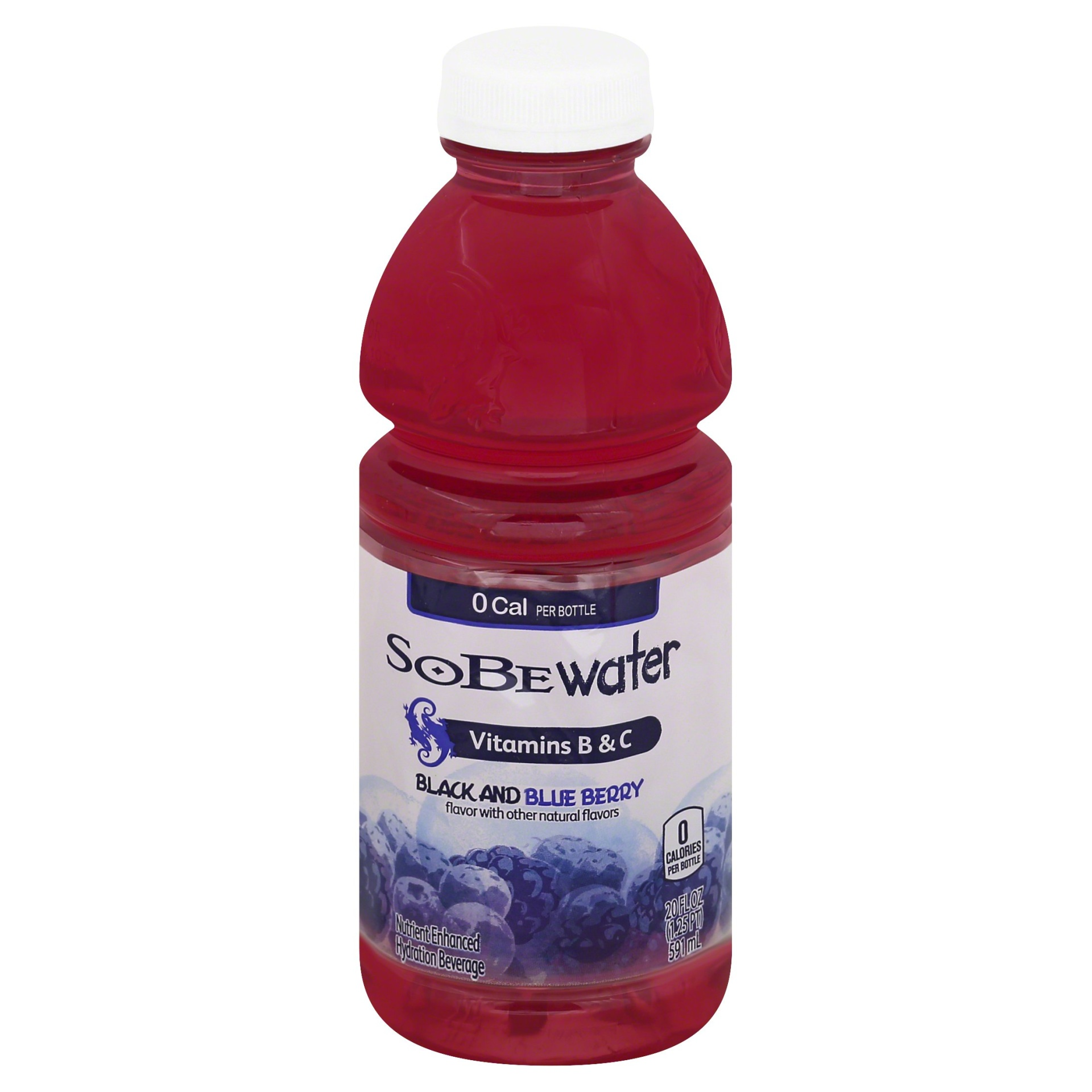 slide 1 of 3, SoBe Lifewater Black and Blue Berry Vitamin Enriched Water,