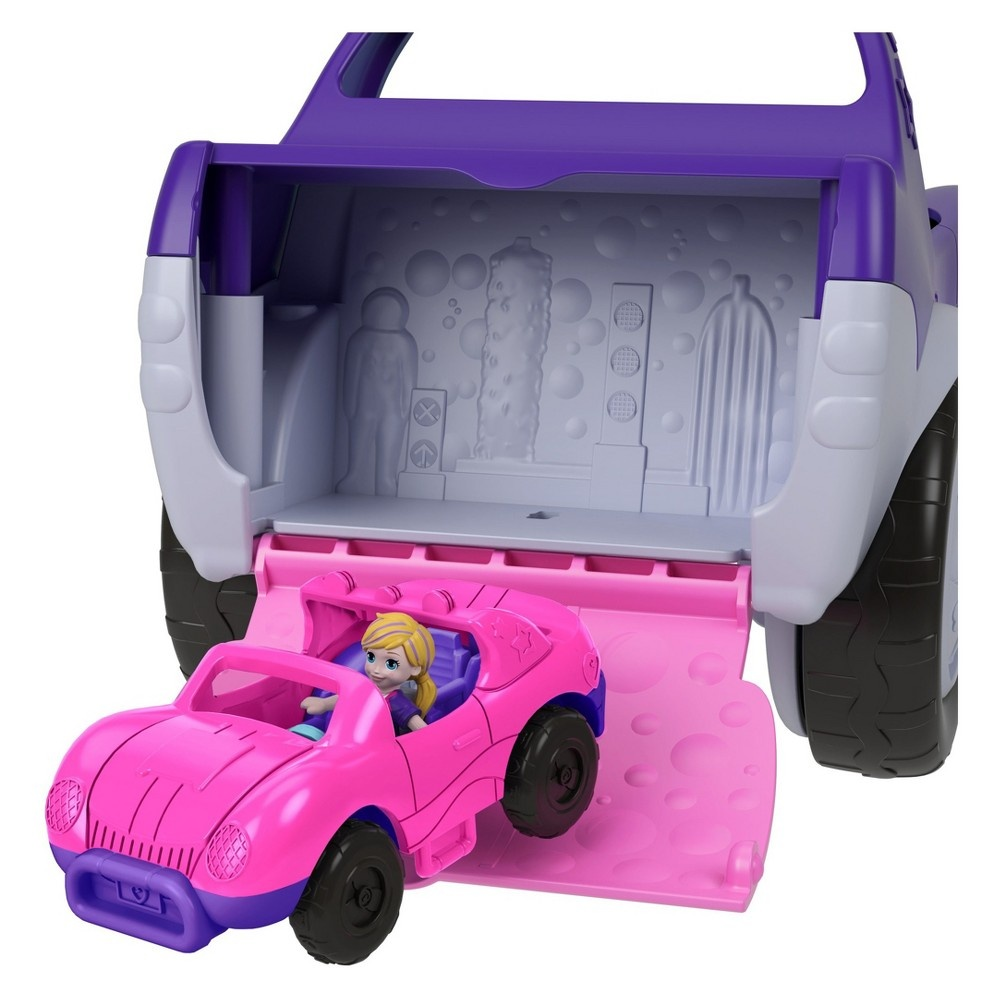 slide 6 of 12, Polly Pocket S.U.V. (Secret Utility Vehicle) Set,