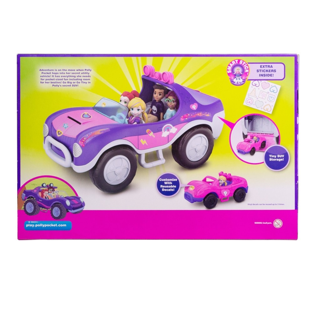 slide 7 of 12, Polly Pocket S.U.V. (Secret Utility Vehicle) Set,