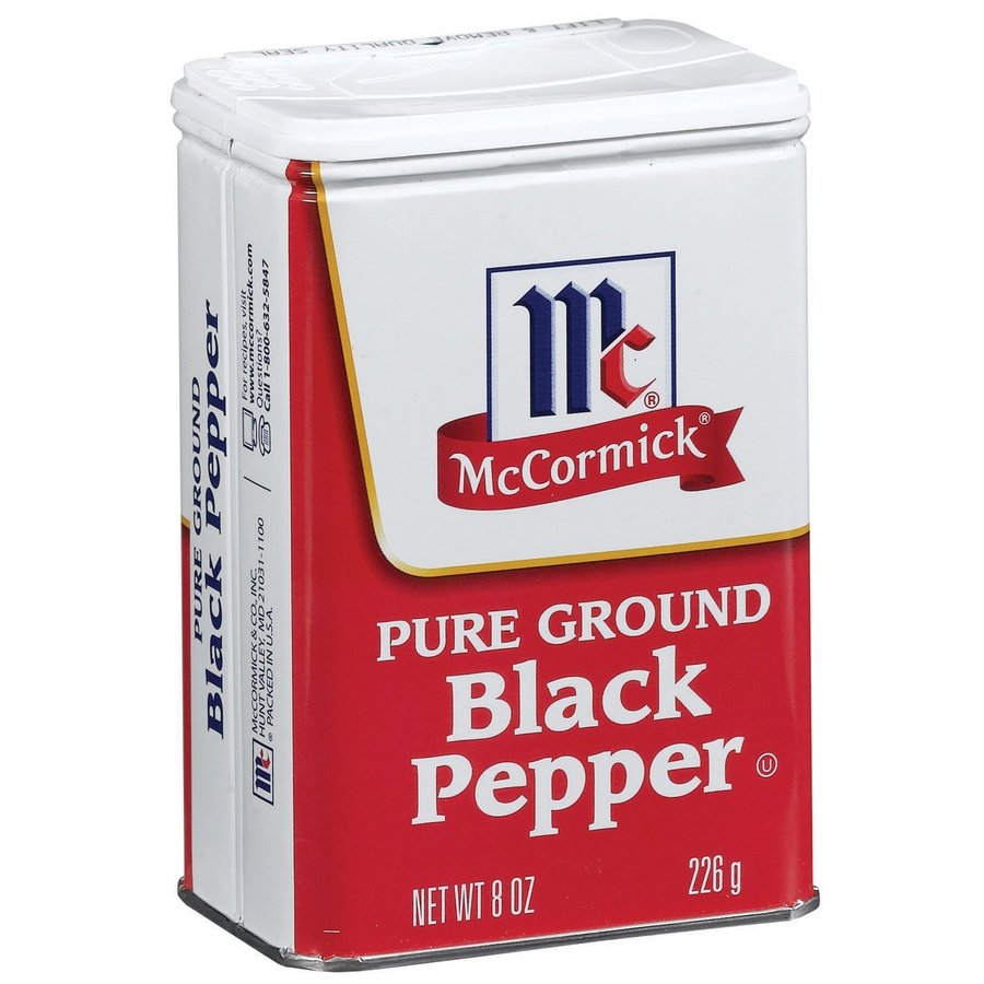 slide 2 of 3, McCormick Black Pepper, Pure Ground,