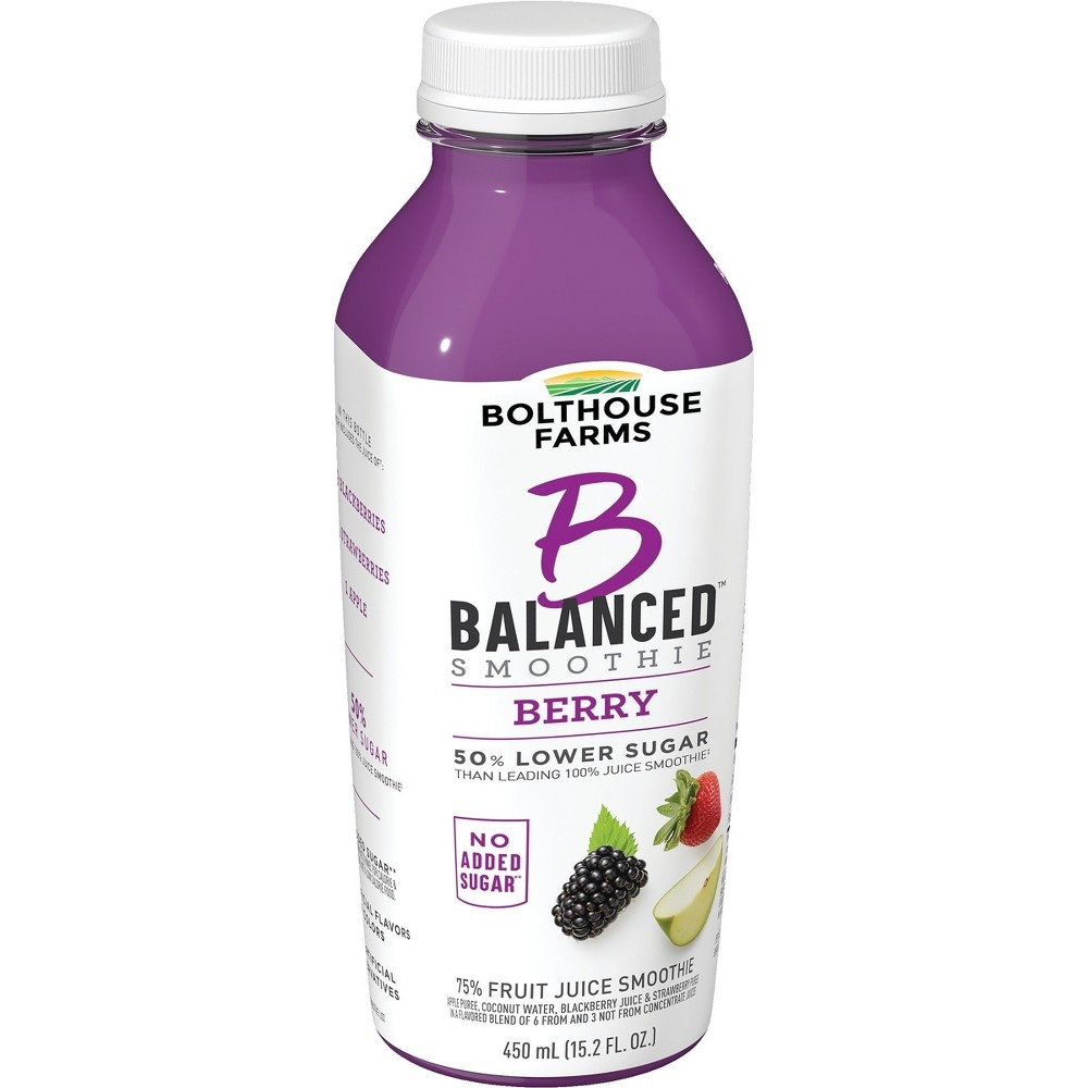 slide 4 of 7, Bolthouse Farms B Balanced Berry Smoothie,
