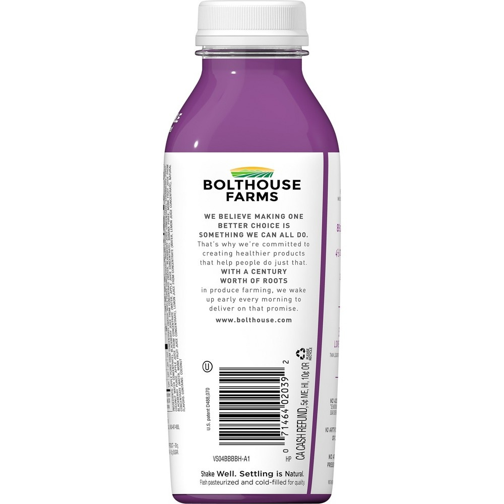 slide 7 of 7, Bolthouse Farms B Balanced Berry Smoothie,