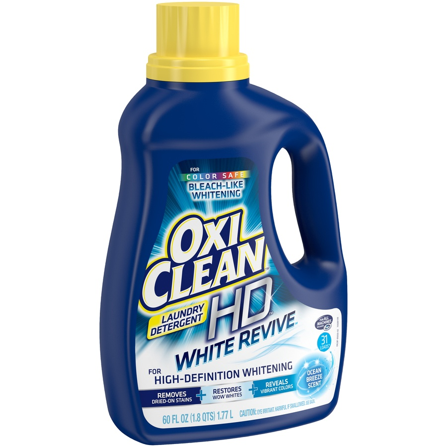 slide 2 of 3, Oxi-Clean Oxiclean White Revive Ocean Breeze Laundry Detergent,