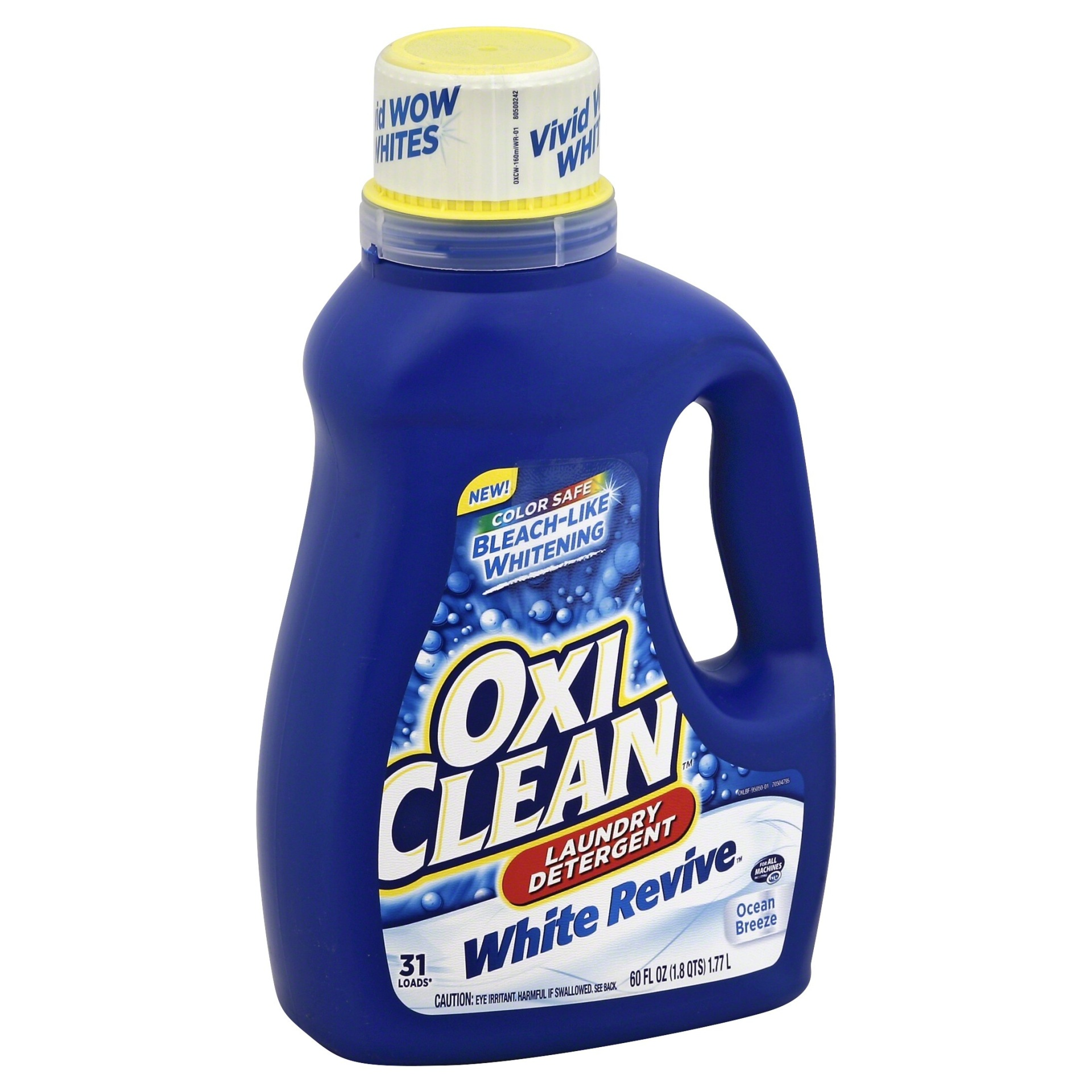 slide 1 of 3, Oxi-Clean Oxiclean White Revive Ocean Breeze Laundry Detergent,