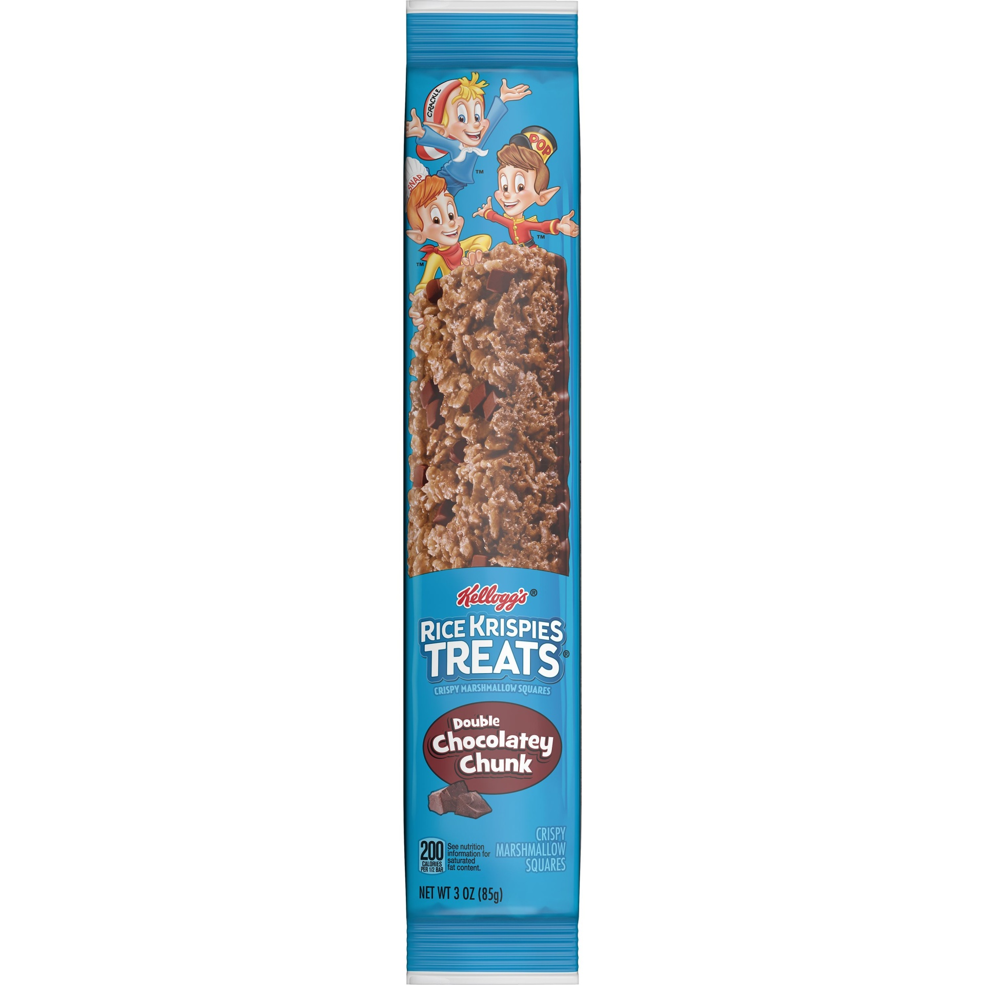 slide 2 of 5, Kellogg's Rice Krispies Treats Double Chocolatey Chunk Crispy Marshmallow Squares,