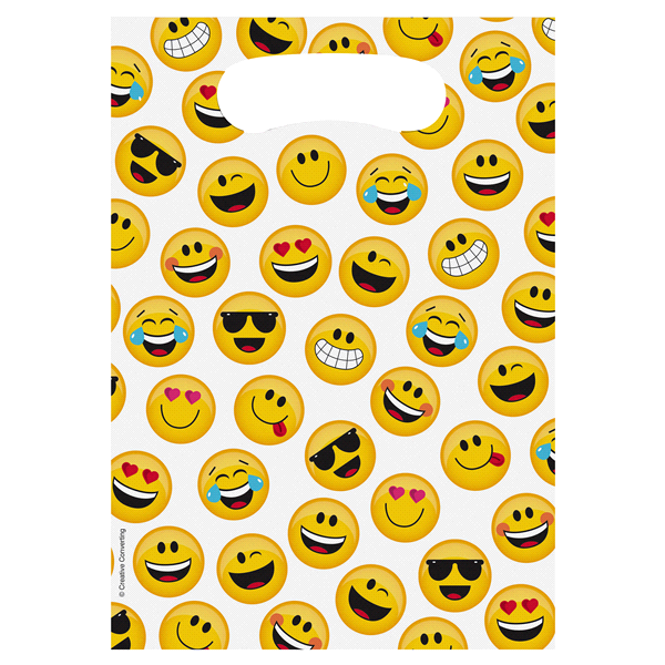 slide 1 of 1, Show Your Emojions Favor Bags,