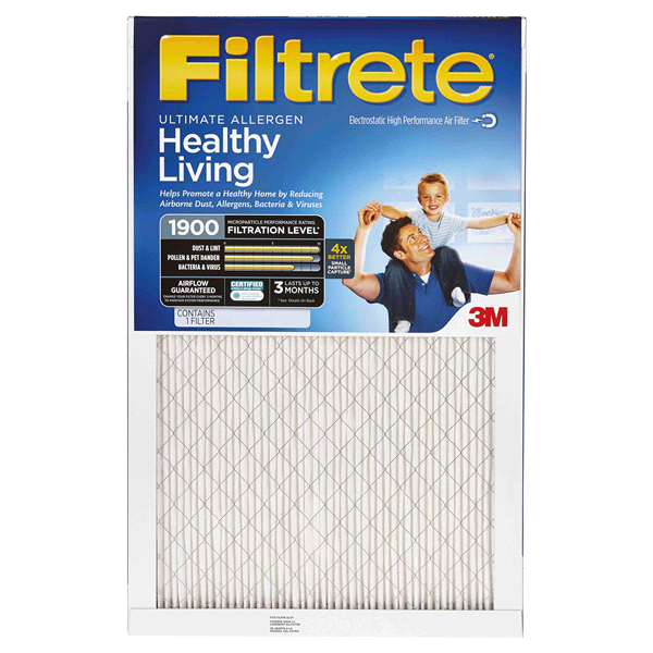 slide 1 of 1, Filtrete Ultimate Allergen Reduction Filter, 14 in x 25 in x 1 in,