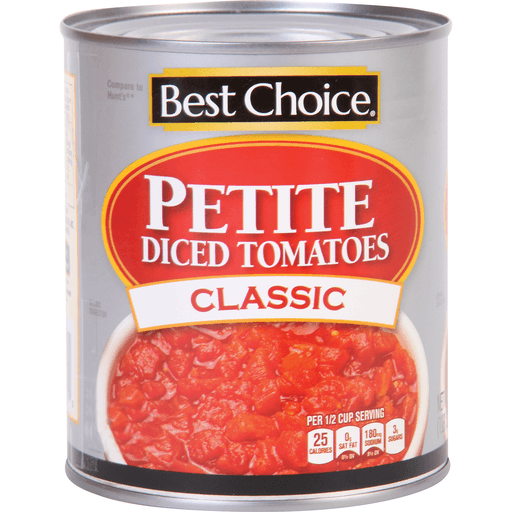 slide 1 of 1, Best Choice Petite Diced Tomatoes,