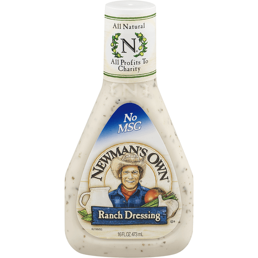 slide 2 of 9, Newman's Own Ranch Dressing,