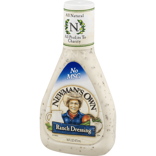 slide 3 of 9, Newman's Own Ranch Dressing,