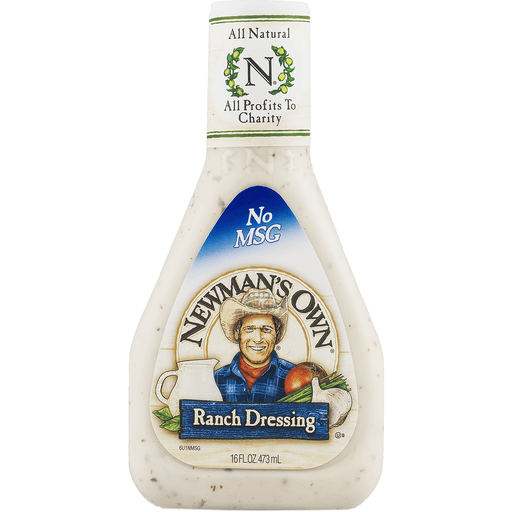 slide 4 of 9, Newman's Own Ranch Dressing,
