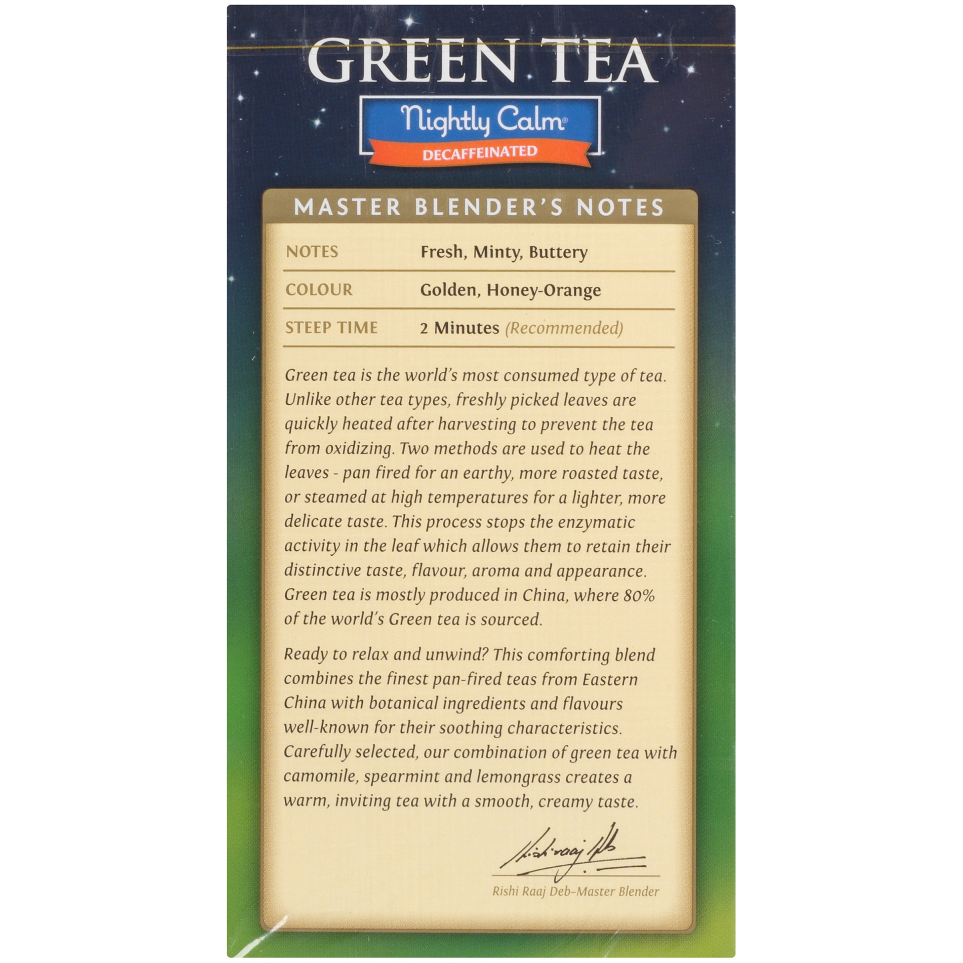 slide 4 of 7, Twinings of London Nightly Calm Green 20 Ct Tea Bags,