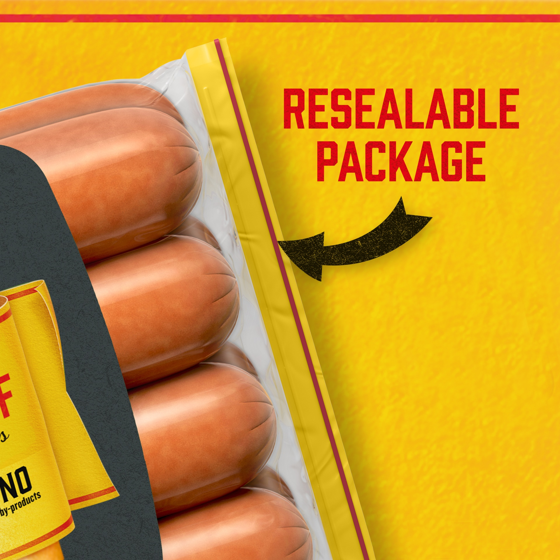 slide 4 of 13, Oscar Mayer Jumbo Angus Beef Uncured Franks 15 oz,