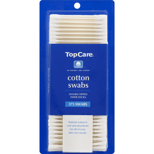 slide 2 of 2, TopCare Cotton Swabs,