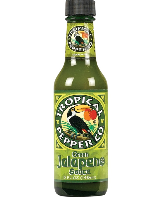 slide 1 of 1, Tropical Pepper Co. Green Jalapeno Sauce,