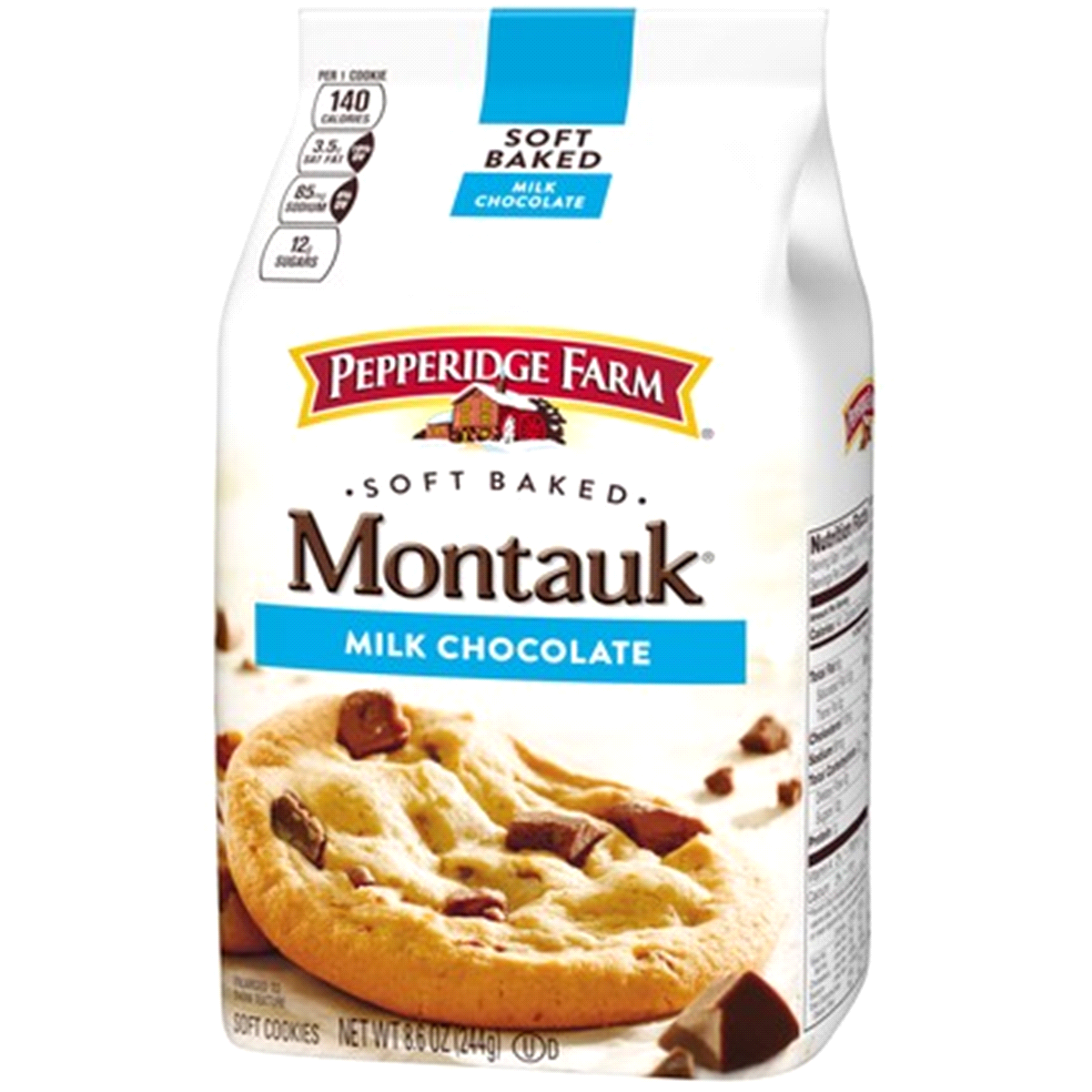 slide 3 of 8, Pepperidge Farm Montauk Milk Chocolate Soft Cookies,