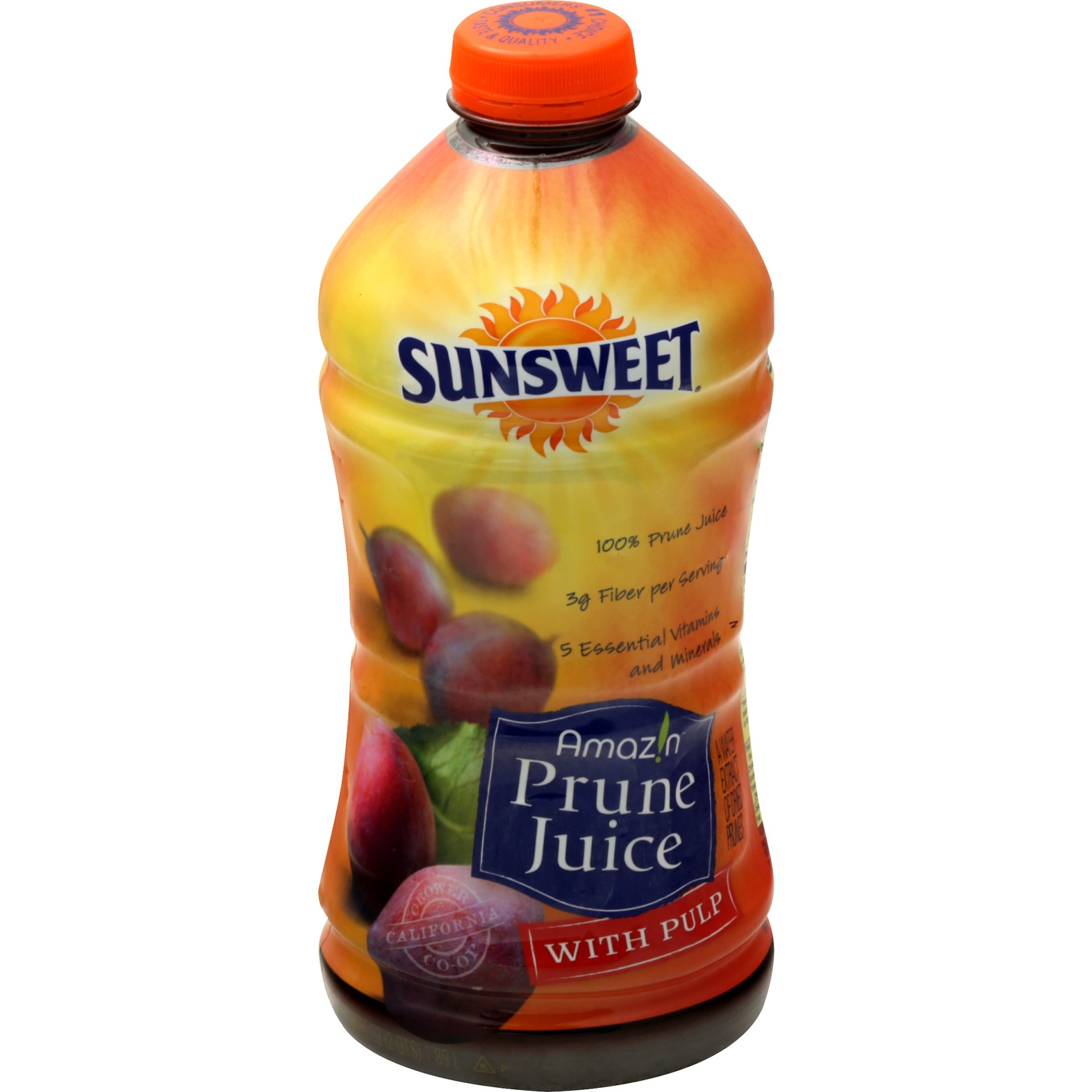 slide 1 of 2, Sunsweet Prune Juice With Pulp,