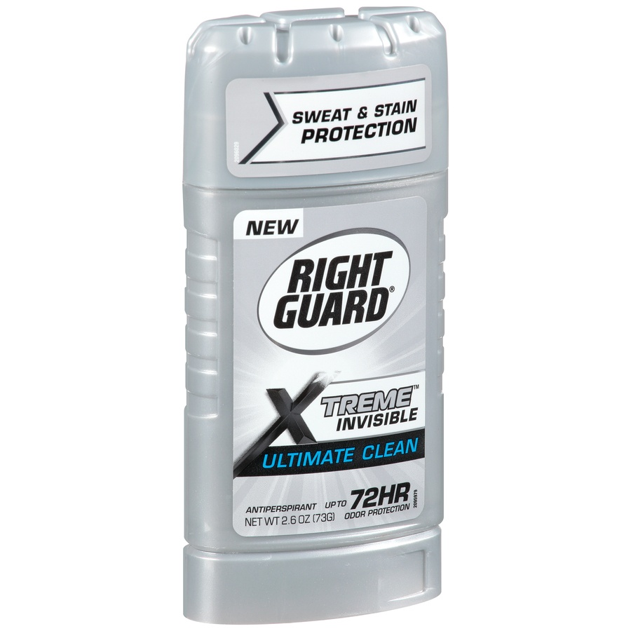 slide 2 of 7, Right Guard Xtreme Invisible Ultimate Clean Antiperspirant,