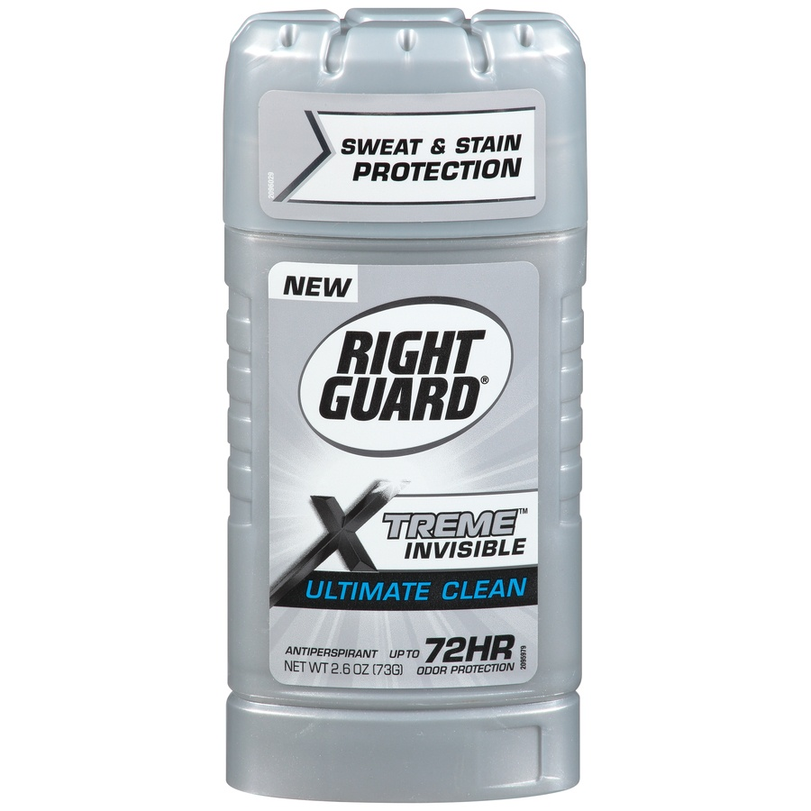slide 1 of 7, Right Guard Xtreme Invisible Ultimate Clean Antiperspirant,