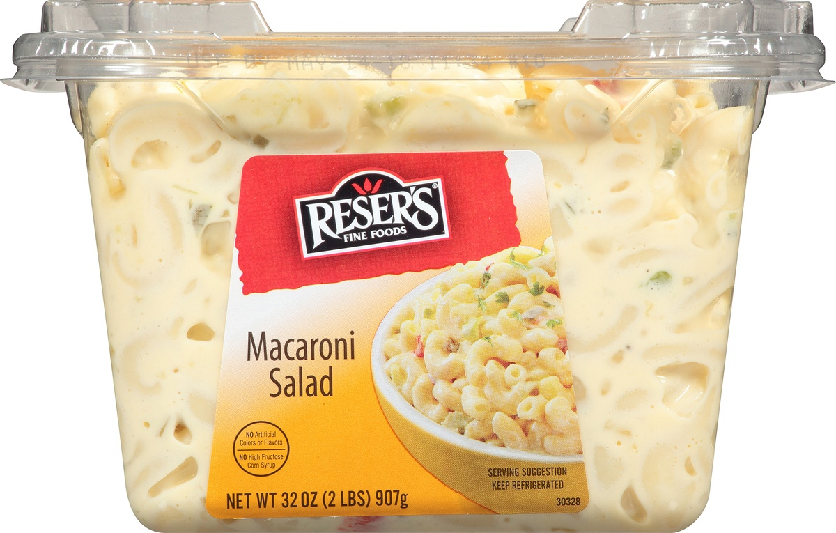 slide 7 of 8, Resers Elbow Macaroni Salad,