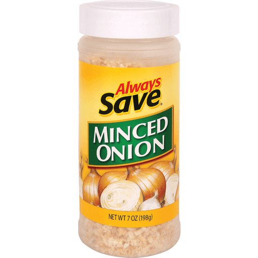 slide 1 of 1, Always Save Minced Onion,
