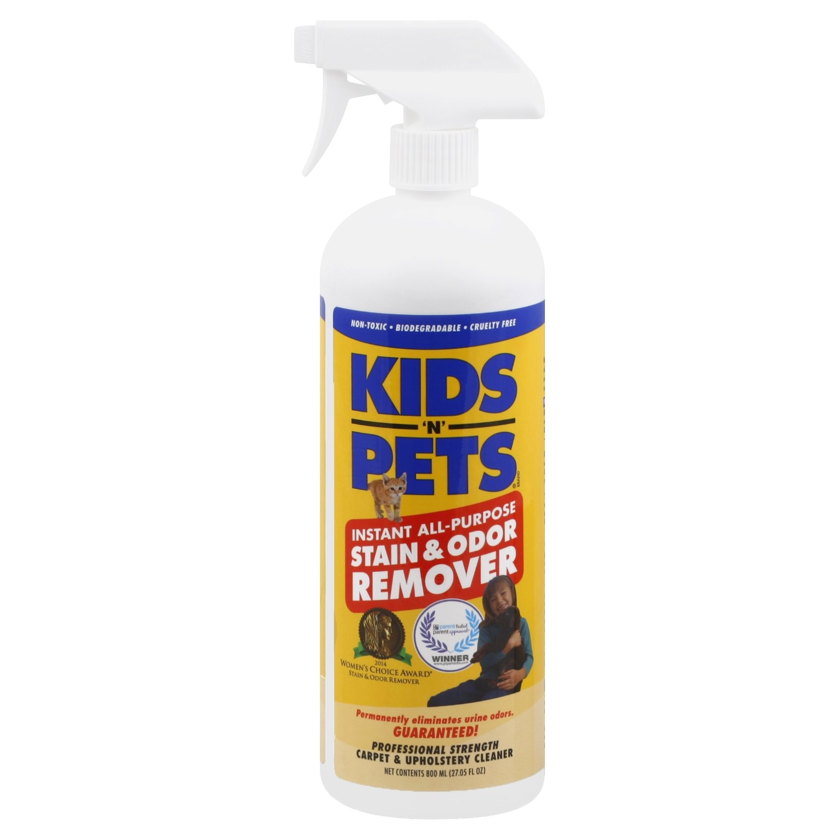slide 1 of 1, Kids 'N' Pets Instant All Purpose Stain & Odor Remover,