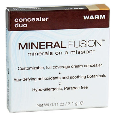 slide 1 of 1, Mineral Fusion Concealer Duo - Warm,