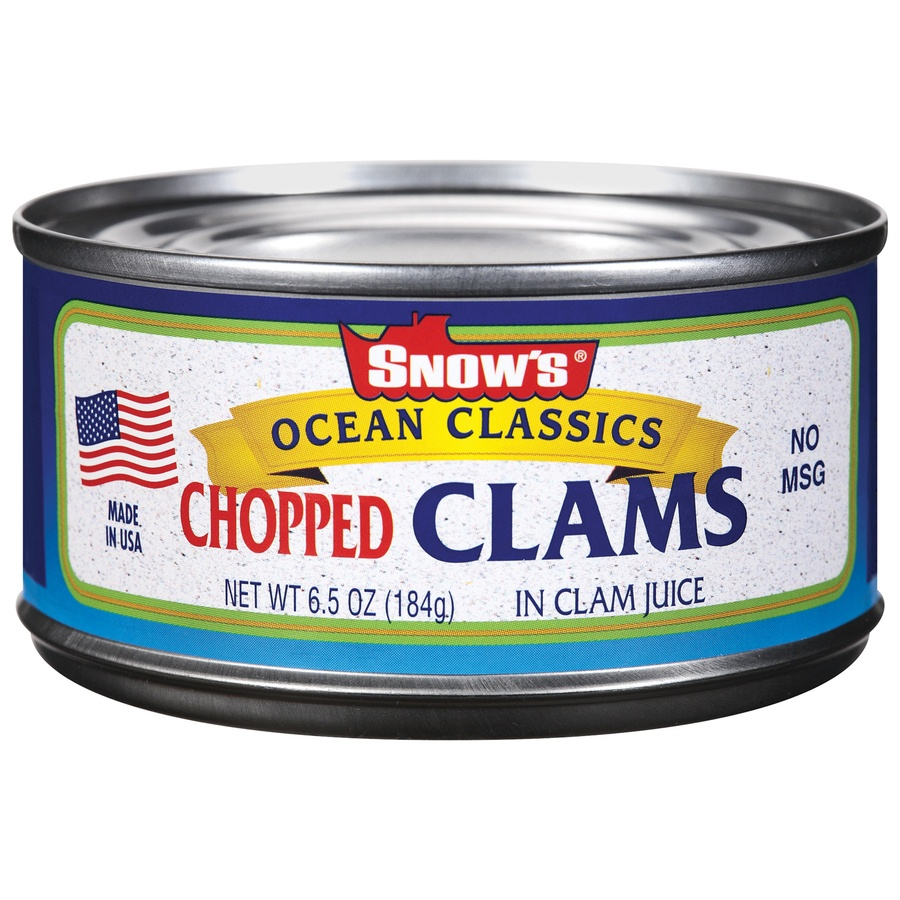 slide 1 of 1, Snow's Ocean Classics Chopped Clams,