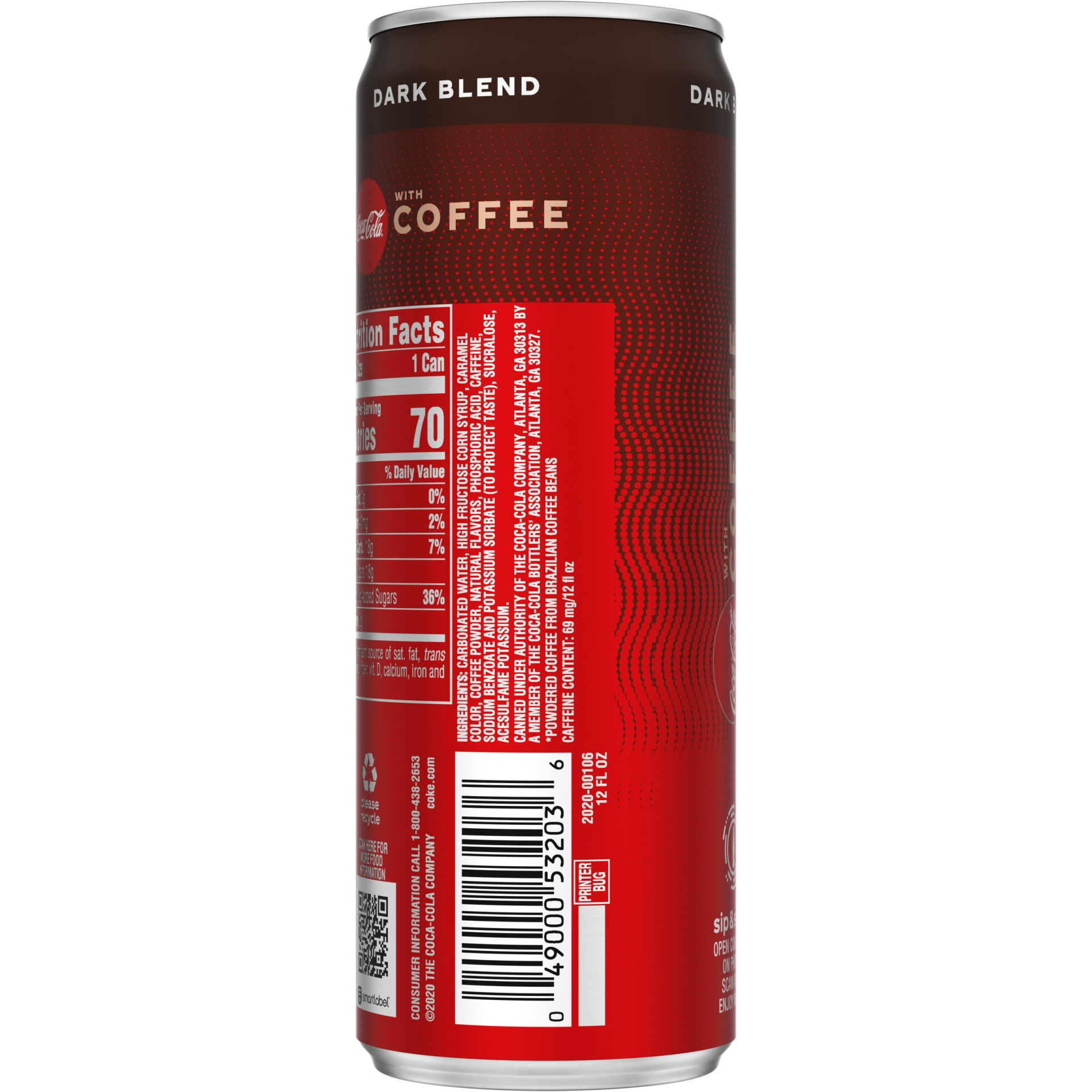 slide 3 of 13, Coca-Cola With Coffee Dark Blend,