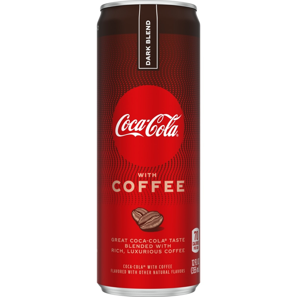 slide 1 of 13, Coca-Cola With Coffee Dark Blend,