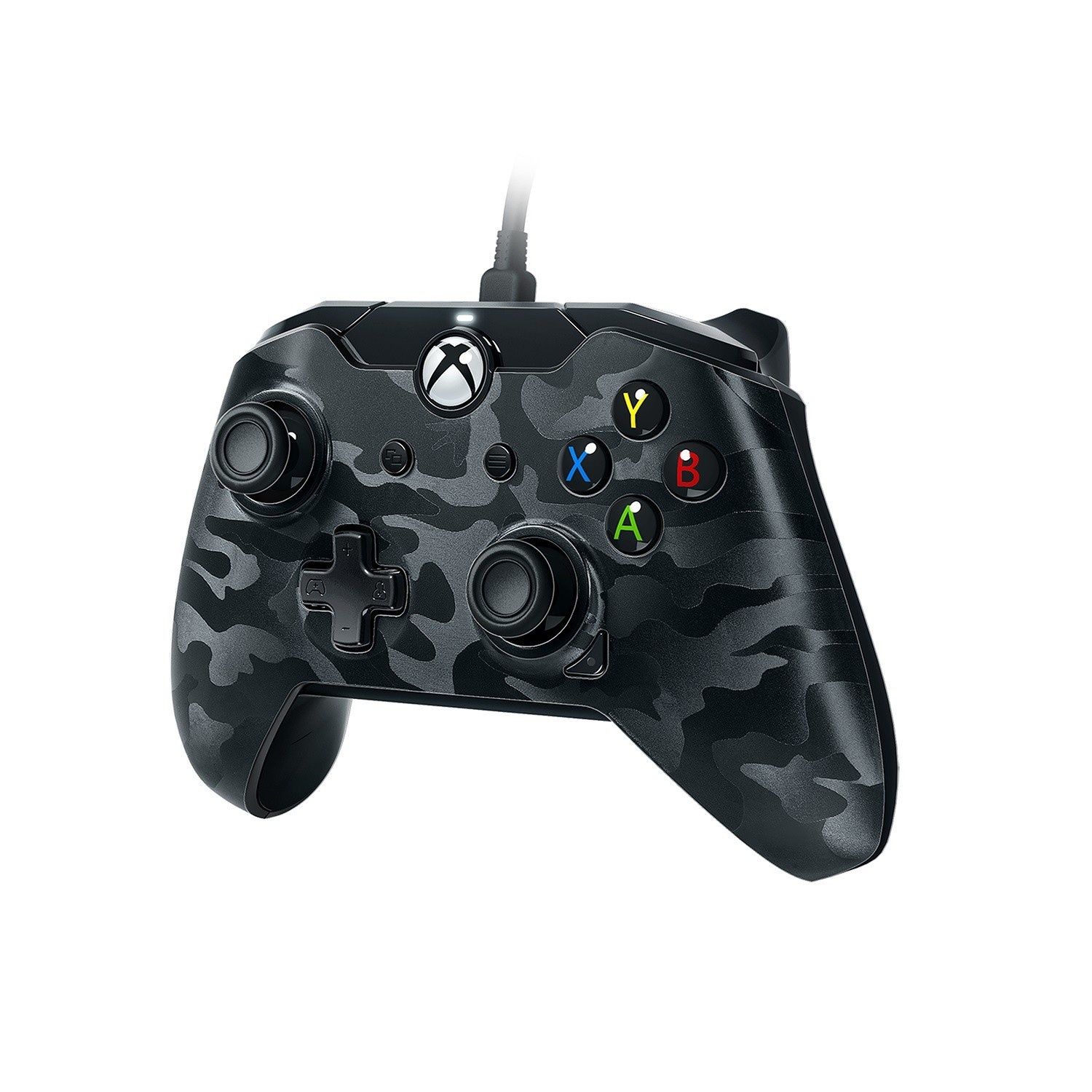 slide 1 of 2, PDP Stealth Series Wired Controller for Xbox One - Phantom Black,