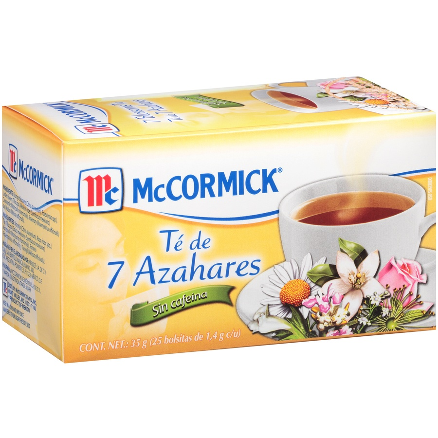 slide 2 of 7, Mccormick 7 Blossoms Tea Caffeine Free,