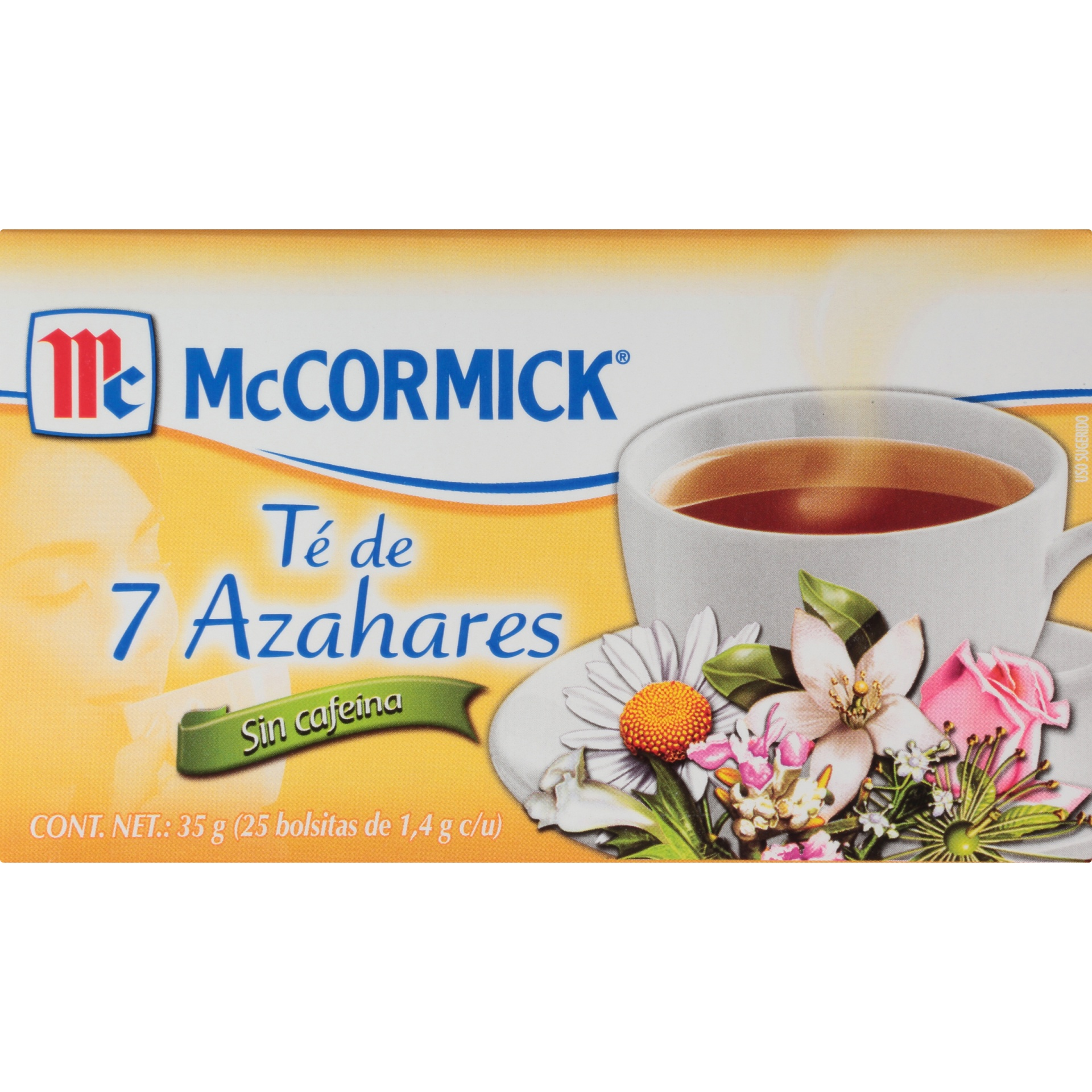 slide 4 of 7, Mccormick 7 Blossoms Tea Caffeine Free,