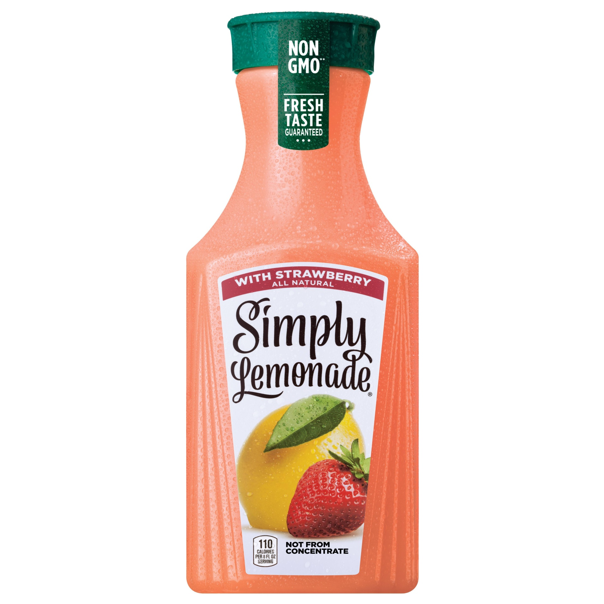 slide 1 of 2, Simply Lemonade with Strawberry,