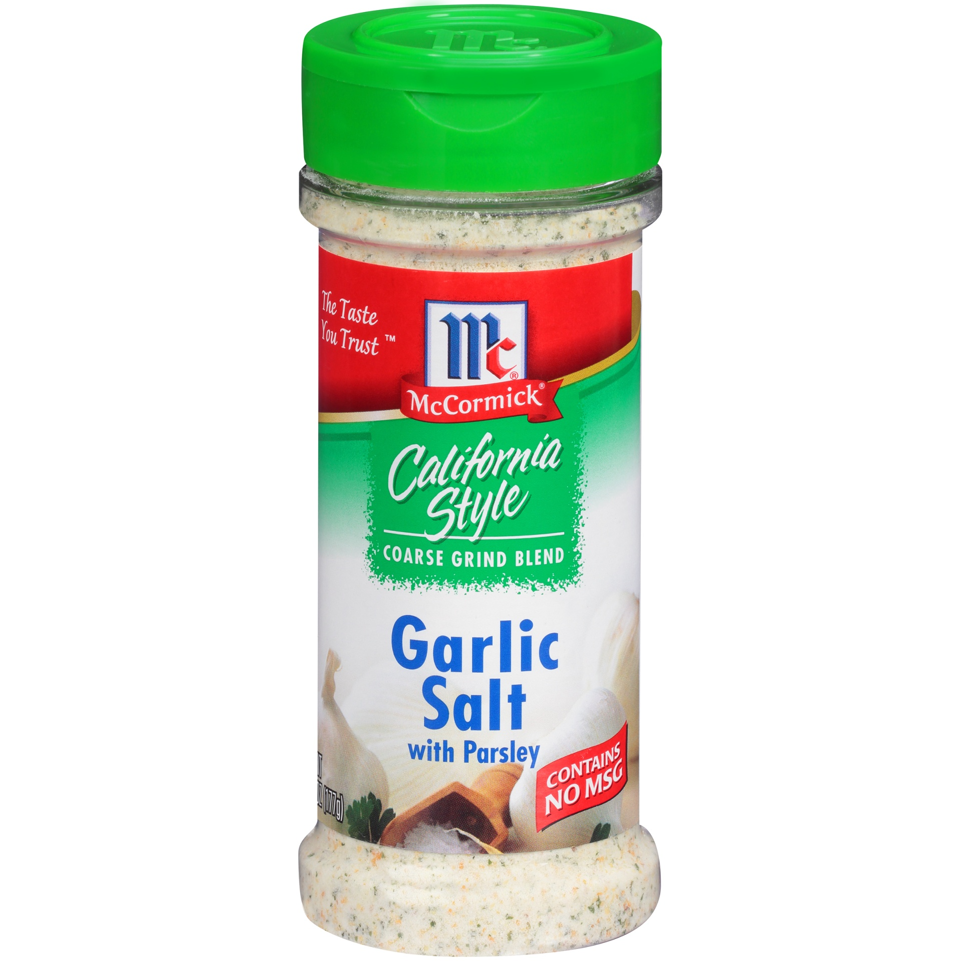 slide 1 of 1, McCormick California Style Garlic Salt With Parsley,