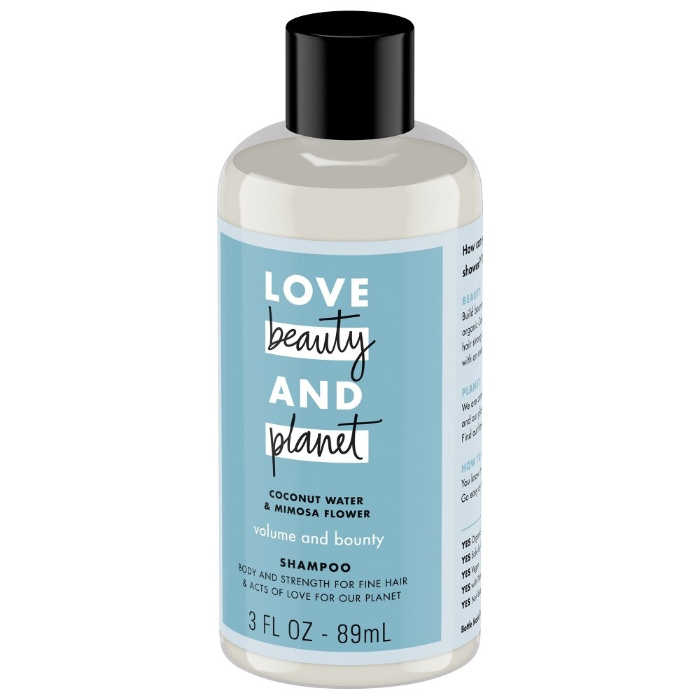 slide 6 of 6, Love Beauty and Planet Love Beauty & Planet Coconut Water & Mimosa Flower Volume and Bounty Shampoo,