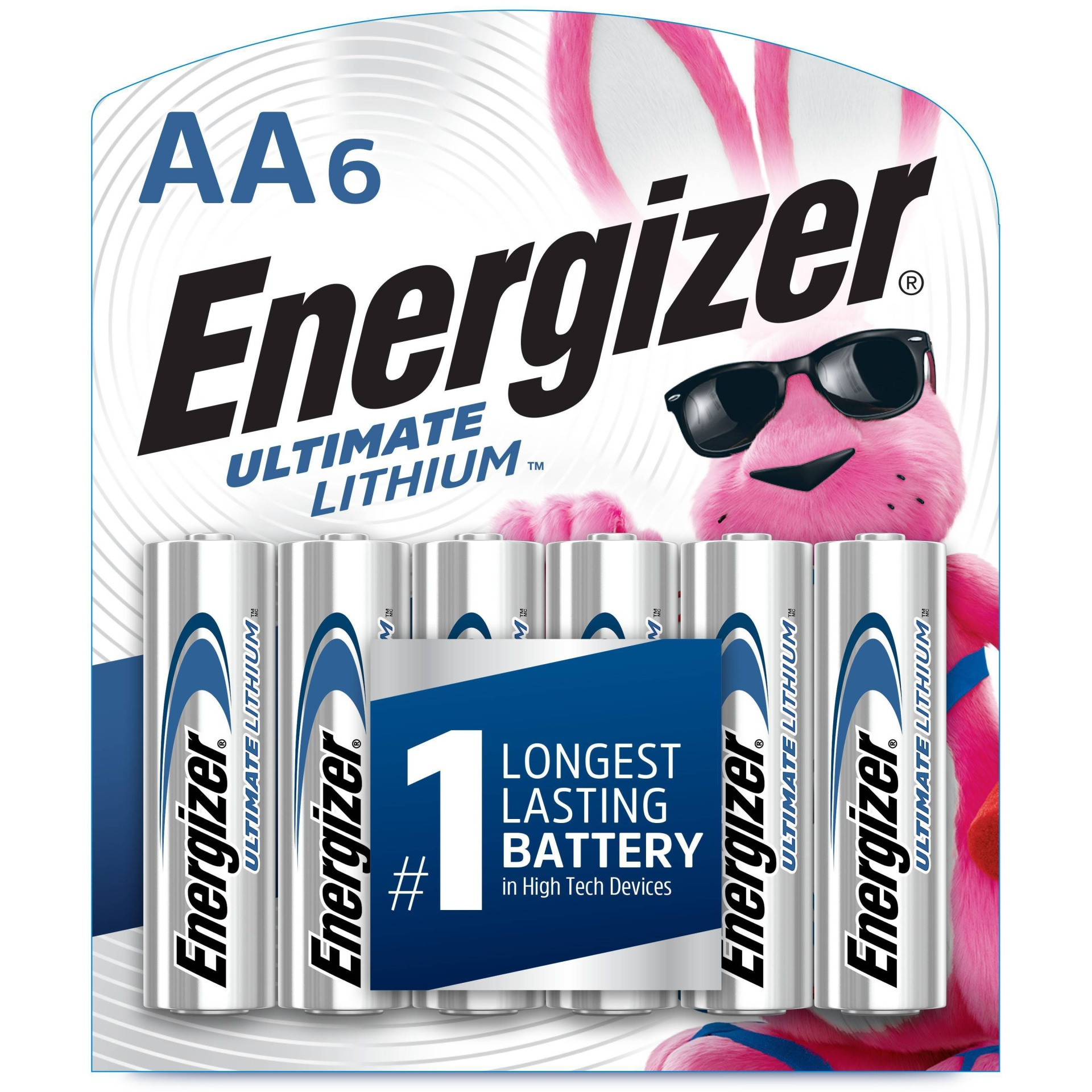 slide 1 of 5, Energizer Ultimate Lithium AA Batteries,