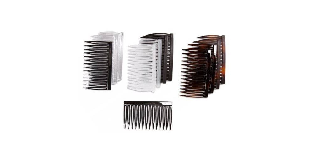 slide 3 of 3, scunci 7cm Plastic Side Combs,
