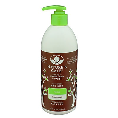 slide 1 of 1, Nature's Gate Herbal Moisturizing Lotion,